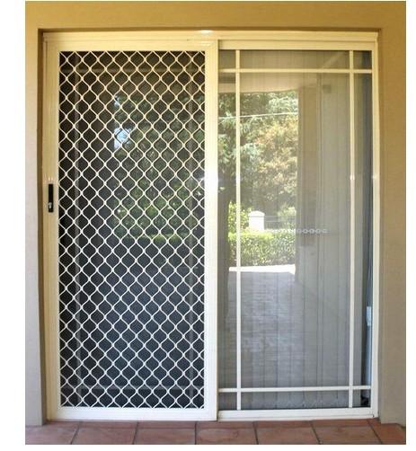 Reliance aluminium interiors for Door design with net